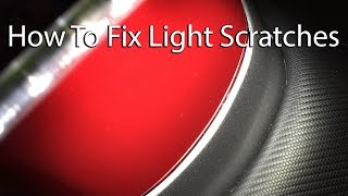 How To Remove Light Scratches From A Motorcycle Tank