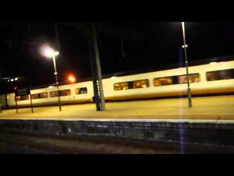 Eurostar Class 373 From Brussels Midi/Zuid Arriving at Ashford International For London 11/10/14