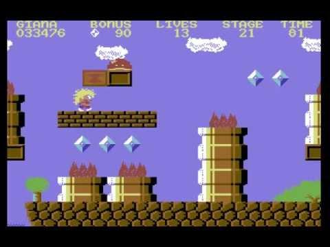 The Great Giana Sisters Longplay (C64) [50 FPS]