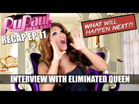 Rupaul's Drag Race Recap EP 11 with Peppermint (SPOILER ALERT) + INTERVIEW