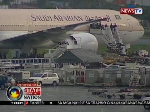Saudia Airlines Flight SV 872, itinimbreng na-hijack pero aksidenteng napindot ang distress call