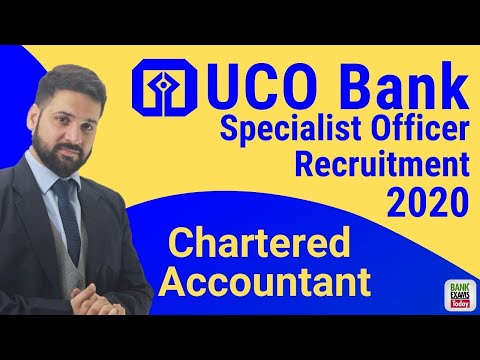 UCO Bank SO Course 2020 (Chartered Accountant)