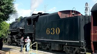 Steam Cab Ride in the Southern #630