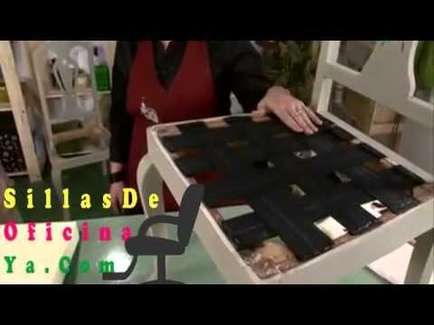 Sillas de oficina como tapizar precios ergonomicas for Sillas de oficina altas