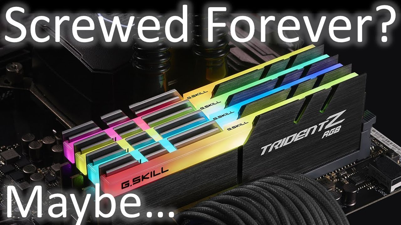 Will Ram Prices Ever Go Down Is This The New Price Of Ram Forever Youtube