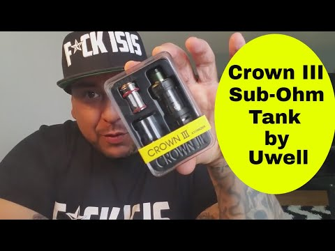 Crown 3 by Uwell  review and rundown