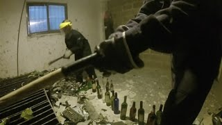 Argentinians Vent Anger in 'City of Rage' Smash Room