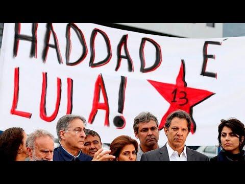 PT confia missão difícil a Fernando Haddad