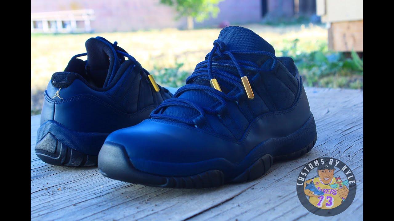 buy popular 89cbe 5133a Custom Jordan 11