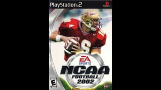 NCAA Football 2002 Intro and Pennants (4K60FPS)