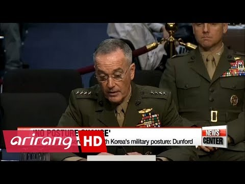 Top U.S. general says North Korea's military posture remains unchanged