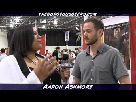 Smallville and Warehouse 13 Aaron Ashmore Interview