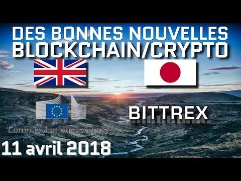 Le Royaume-Uni et la commission européenne pro-blockchain / 3.5M de japonais ont des cryptomonnaies