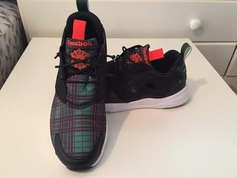 e0b6c0cb6cf Reebok Conor McGregor Furylite Custom Unboxing   On Foot - YouTube