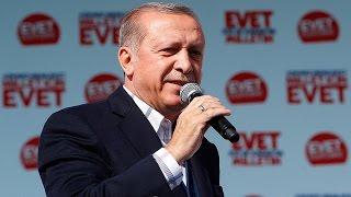 Cumhurbaşkanı Erdoğan Çorum'da halka sesleniyor