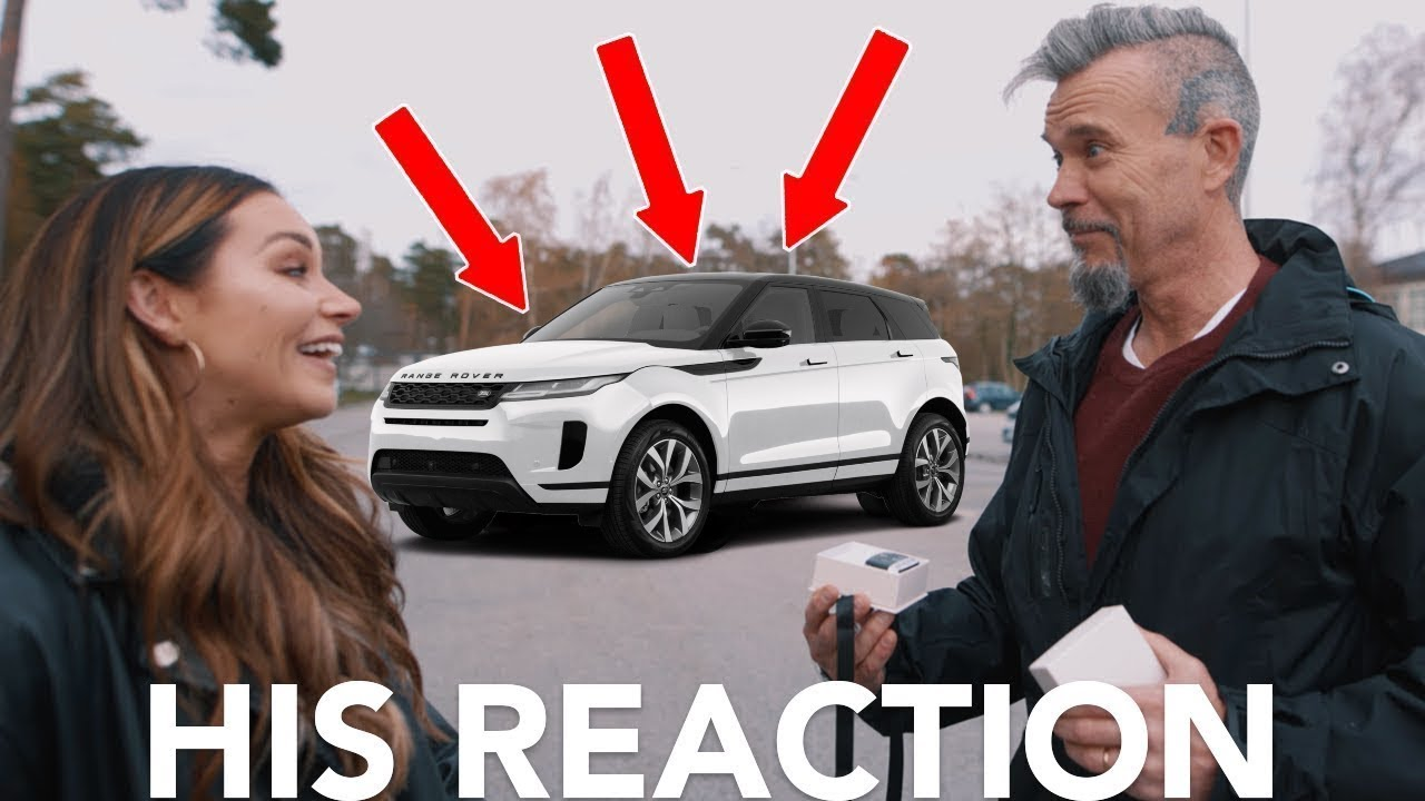 I Bought My Dad A Car...This is His Reaction!!!