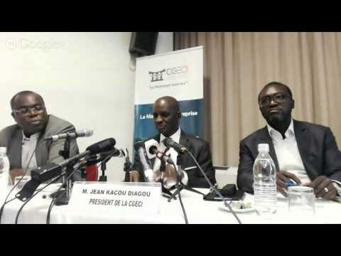 """Lancement de la """"Business compétition""""/ Jean Kacou Diagou,président de la CGECI en direct sur"""