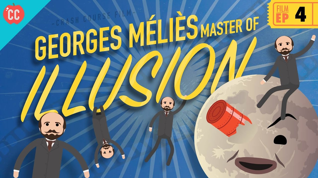 Georges Melies Master Of Illusion Crash Course Film History 4 Youtube
