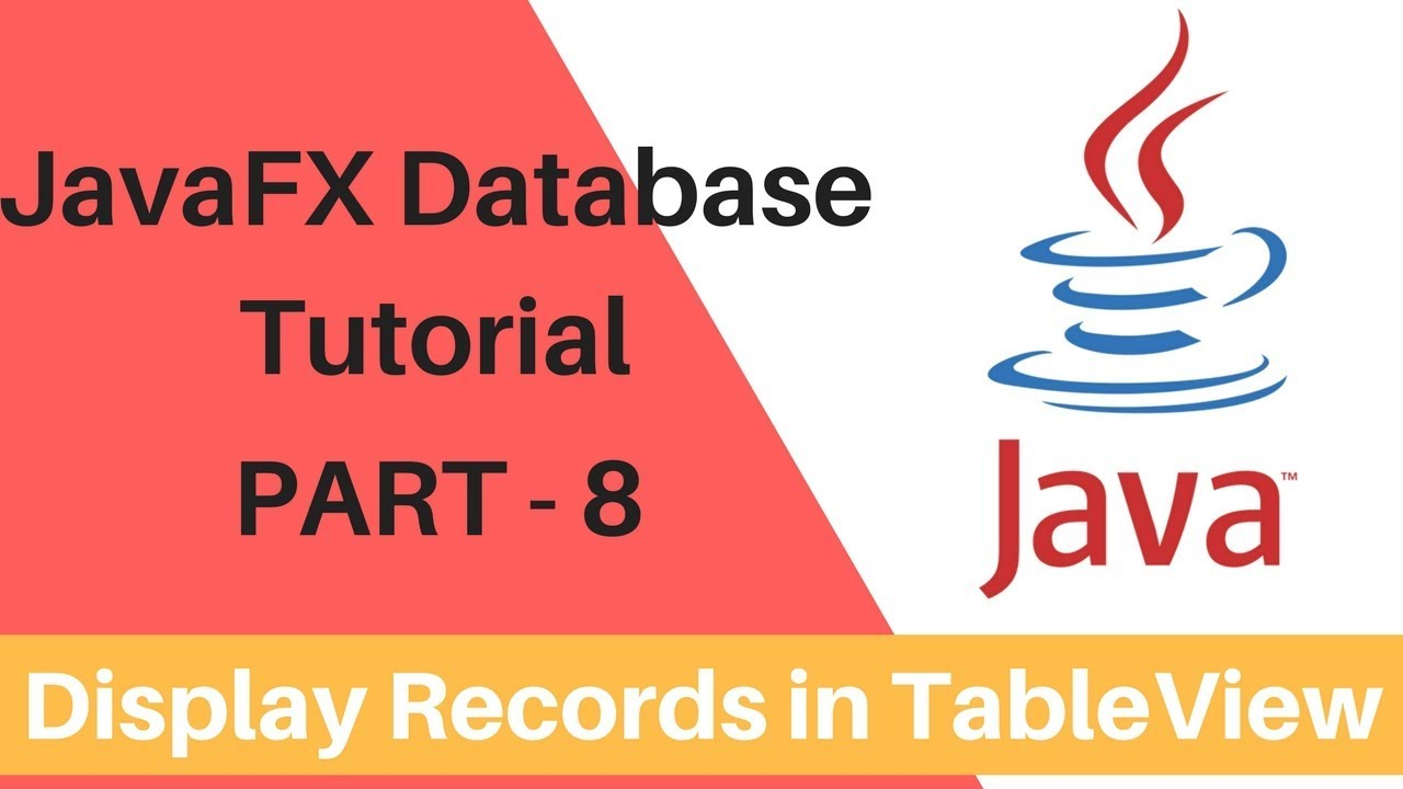 Javafx database operations part 8 display the db values in javafx database operations part 8 display the db values in tableview baditri Images