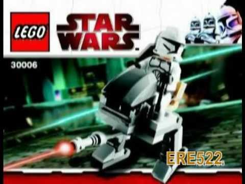 Lego Star Wars Clone Scout Walker Instructions
