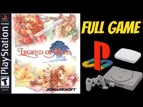 Legend Of Mana 100% ALL EVENTS, ARTIFACTS  Walkthrough/Longplay NO COMMENTARY