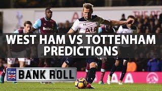 West Ham Vs Tottenham   Premier League Match Predictions   Fri 5th May