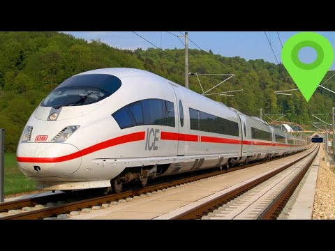 Europe Has The Most Countries With High Speed Rail