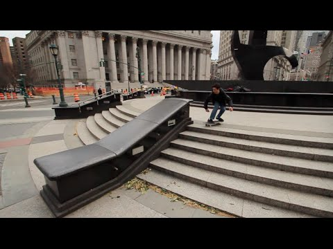NYC Street Skating - Eric Gordon