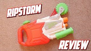 Nerf Zombie Strike Super Soaker RIP Storm Unboxing, Review & Firing