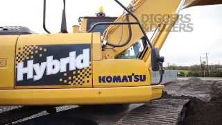 Komatsu HB215LC Hybrid Excavator - What We Thought