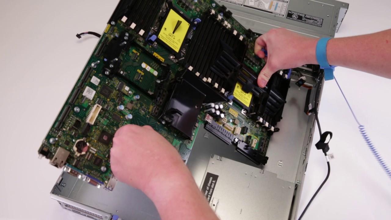 Dell EMC PowerEdge R740: Remove/Install System Board