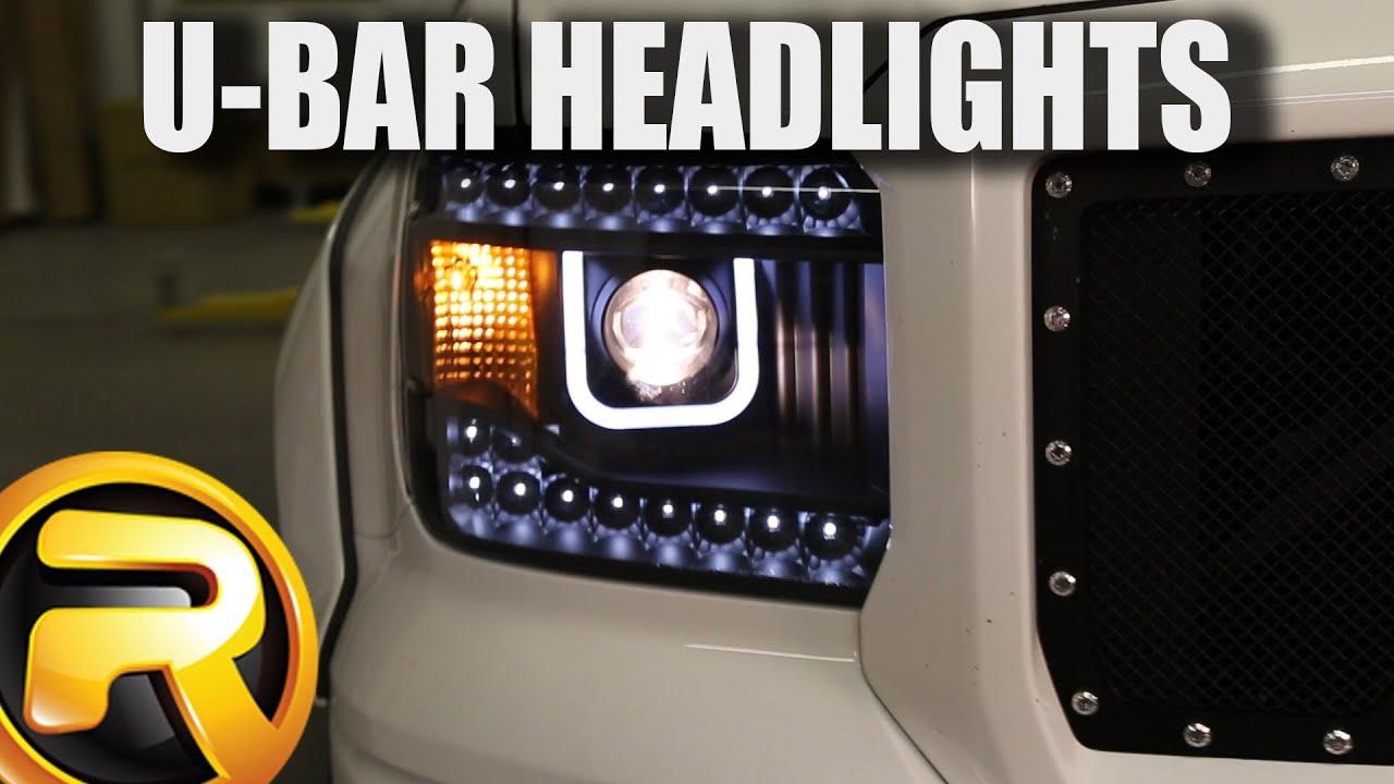 How to install anzo u bar headlights youtube aloadofball Images