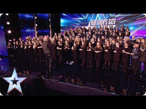This Welsh 160-piece choir hits all the right notes | Audition Week 1 | Britain's Got Talent 2015