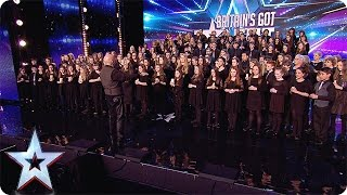 This Welsh 160-piece choir hits all the right notes | Audition Week 1 | Britain