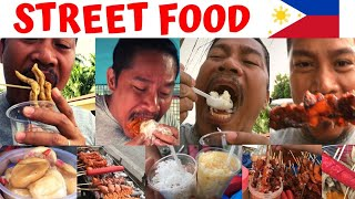 STREET FOOD!!! Filipino Food. Philippines.