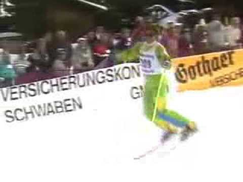 World Championships 1987 Freestyle Skiing Oberjoch Germany SkiAcro/Ski Ballet