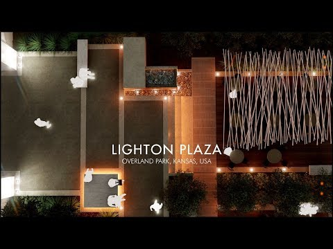 Architectural Visualization for LIGHTON PLAZA OVERLAND PARK,
