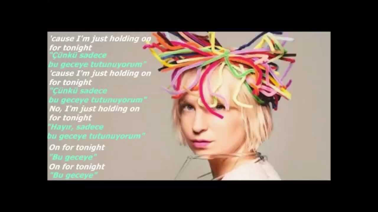Sia - Chandelier (Lyrics&TurkishSub - ŞarkıSözleri&TürkçeAltyazı ...