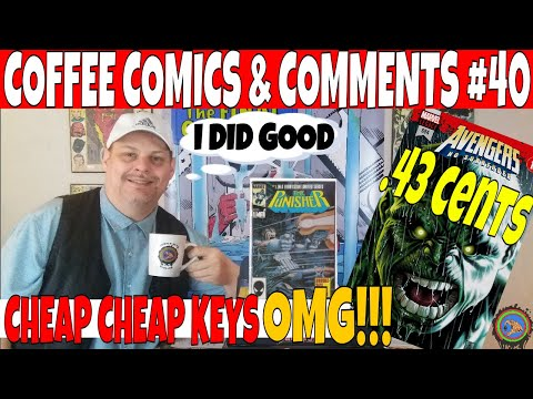 Coffee Comics & Comments #40 Immortal Hulk and other Key Comic books to buy and get | Comic hauls