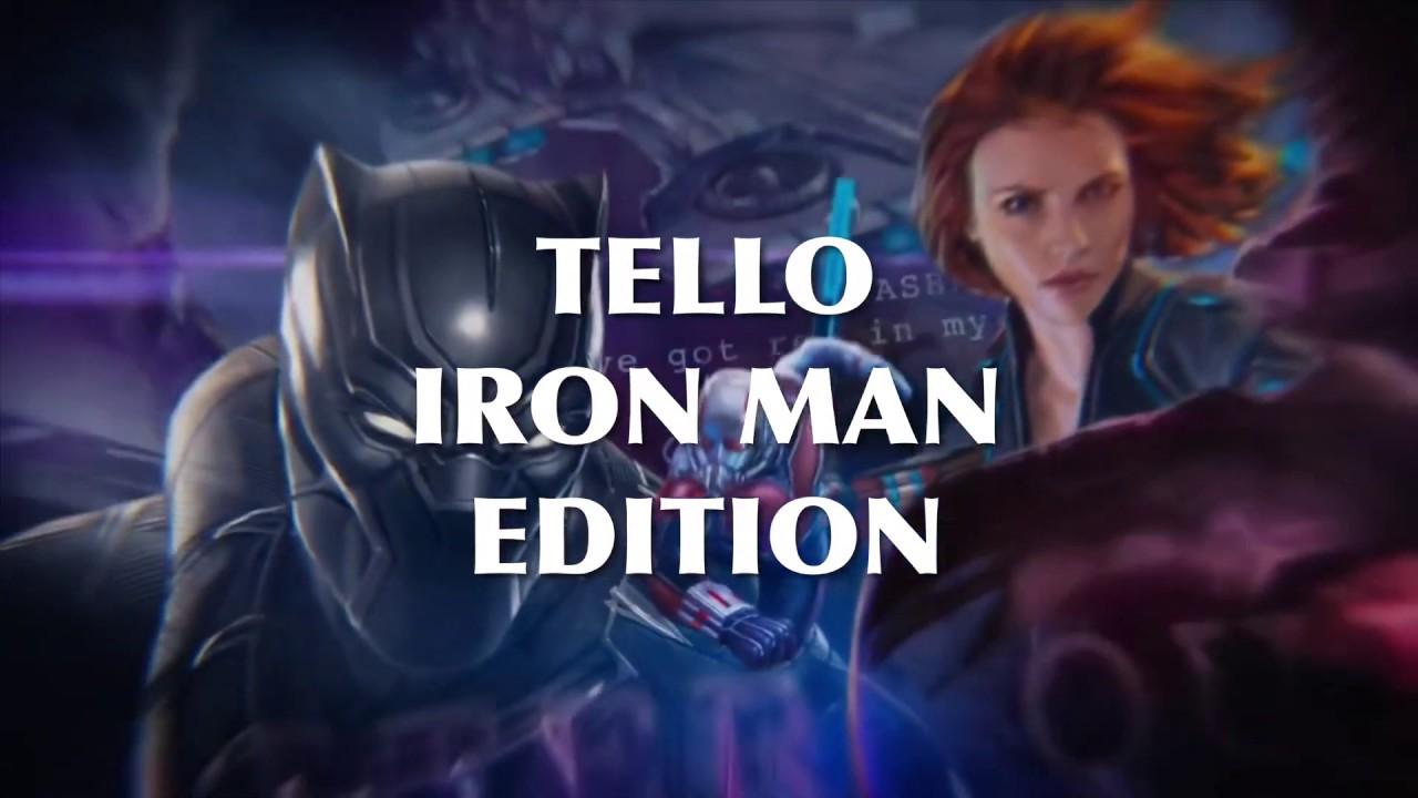BRAND NEW IRON MAN EDITION (TELLO) | DJI Tello Drone Forum