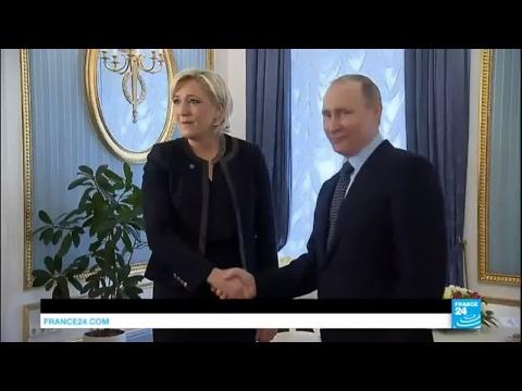 Marine Le Pen à Moscou : une offrande de Poutine à la présidente du Front National ?