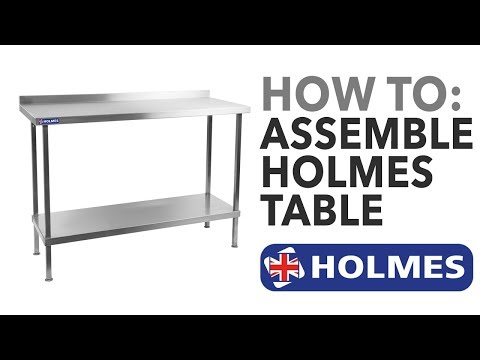 Holmes Self Assembly Table
