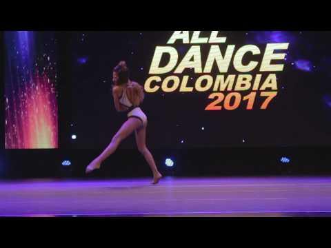 MARIANA HERRERA  SOLO JAZZ  ALL DANCE 2017