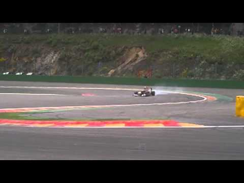 F1 RedBull  RB8 - Spa Francorchamps 2012 - Pure V8 Motor Sound