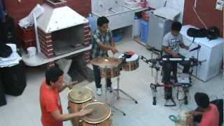 Así Ensaya La Percussion de Rumba Tropical (Parte 1)