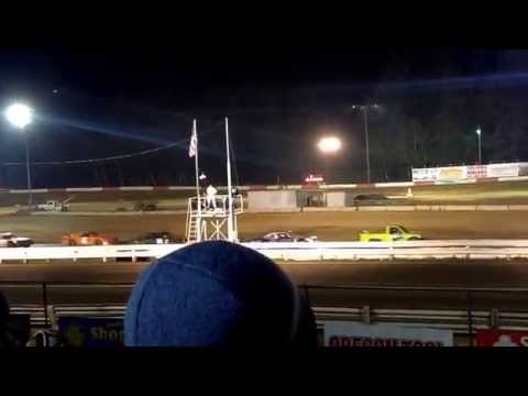 Coos bay speedway street stock main event 9-13 part 1
