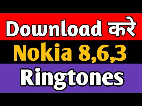 How To Download Nokia 8,6,3 And All Nokia Models Ringtones | Best Top Ringtones