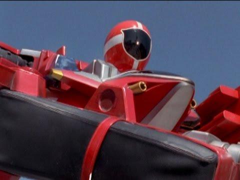 Power Rangers Lightspeed Rescue - Red Ranger Battlizer ...