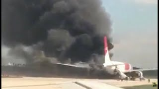 Dynamic Airways Plane Catches Fire at Fort Lauderdale Airport In Florida