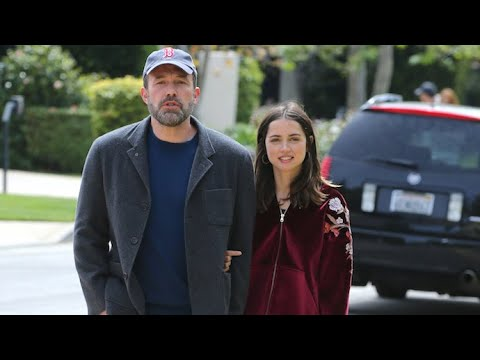 Ben Affleck And Ana De Armas Walk Arm-In-Armas During Romantic Stroll